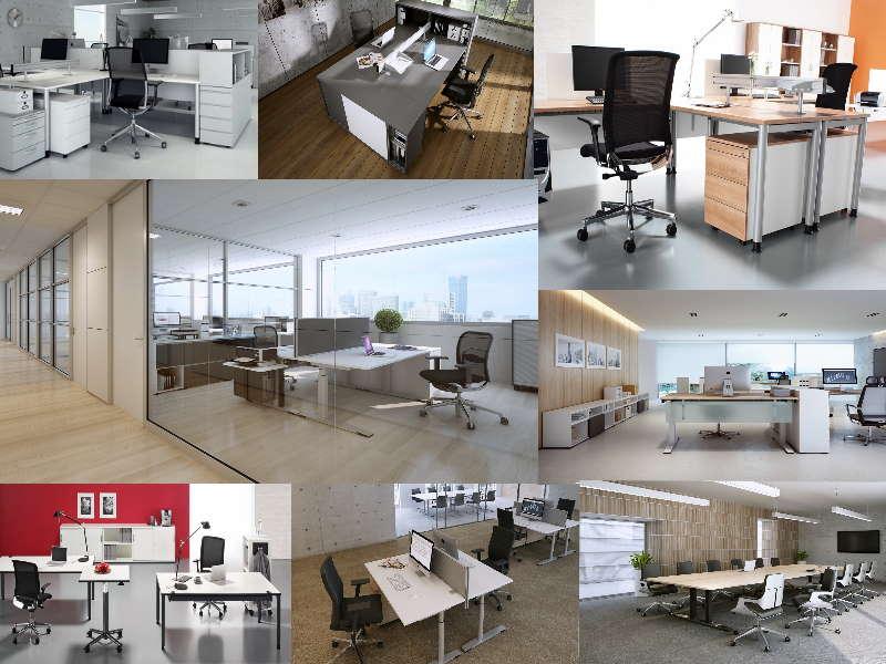 Fertig eingerichtete Büros unserer Kunden.