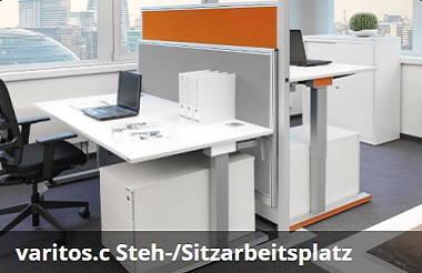Mauser varitos.c Steh/Sitzarbeitsplatz