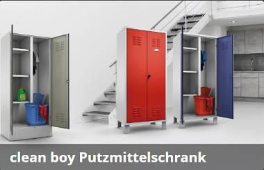 Mauser clean boy Putzmittelschrank