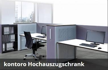 Mauser kontoro Hochauszugschrank